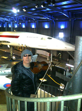Marvin Ayres at Fleet Air Arm Museum