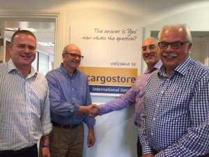 Scott Glatley joins the Cargostore DNV team for ADIPEC 2016