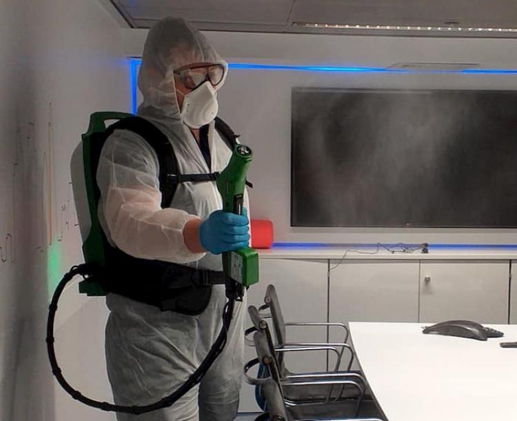 Coronavirus cleaning solutions from FM provider Samsic UK